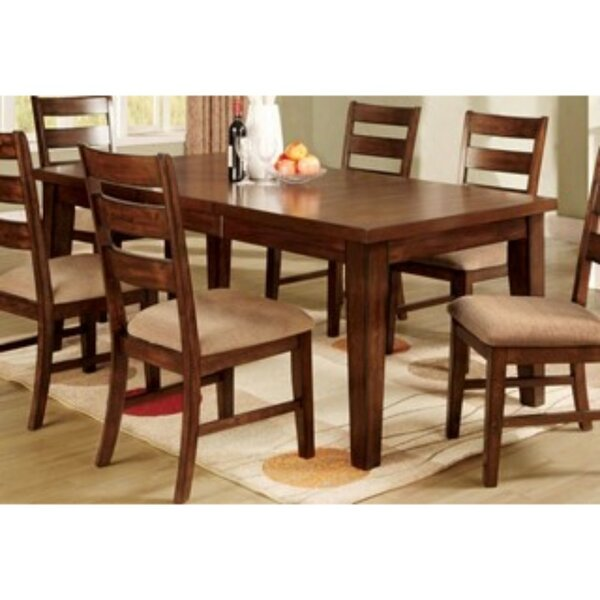 Nevitt Extendable Solid Wood Dining Table by Charlton Home Charlton Home