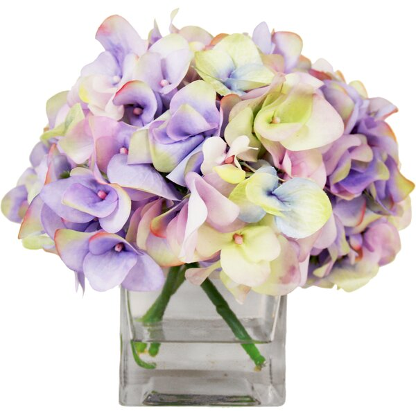 Hydrangea Water Floral by House of Hampton