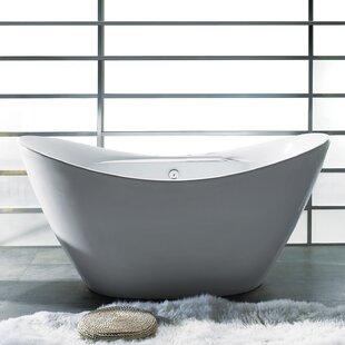Big Save 67 x 30 Soaking Bathtub ByAKDY