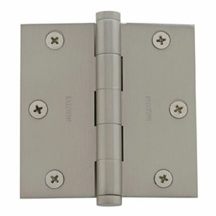 3.5 H × 3.5 W Butt/Ball Bearing Single Door Hinge by Baldwin