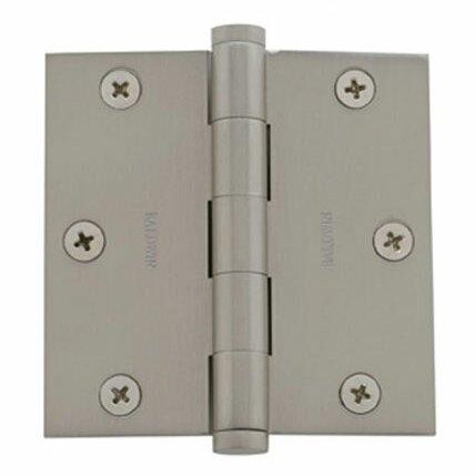 3.5 H × 3.5 W Butt/Ball Bearing Single Door Hinge by Baldwin