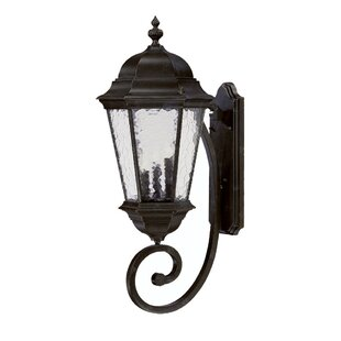Buy clear Brook Lane 3-Light Outdoor Sconce By Darby Home Co