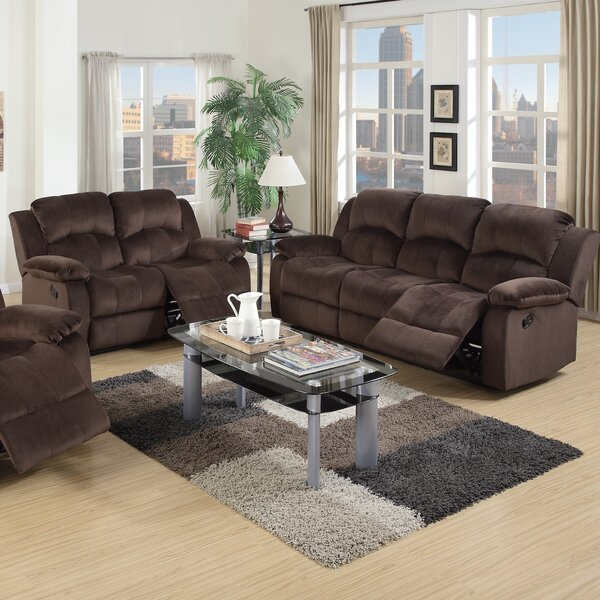 2 Reclining Piece Living Room Set by Infini Furnishings