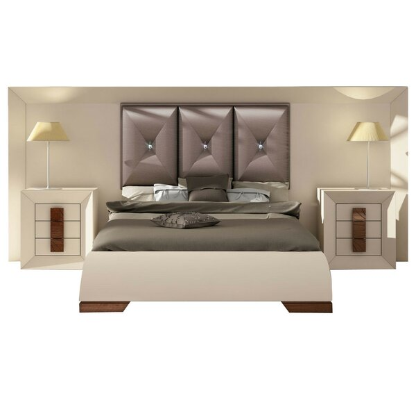 Konen Special Headboard Panel 4 Piece Bedroom Set by Everly Quinn