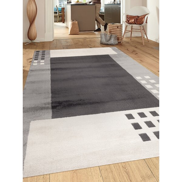 Yetter Gray Area Rug by Orren Ellis