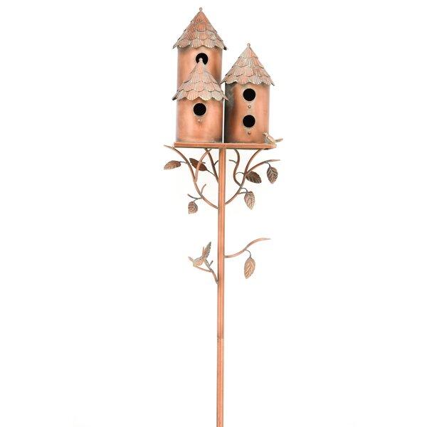 Multi Family 75 in x 12.8 in x 15 in Birdhouse by Zaer Ltd International