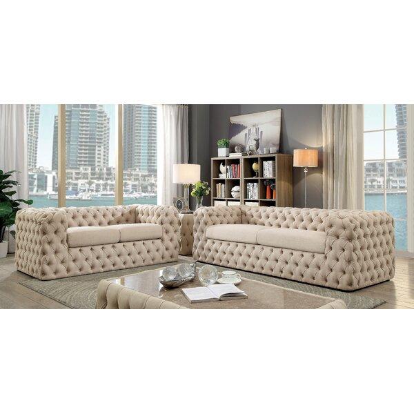 Reid Living Room Set by Everly Quinn
