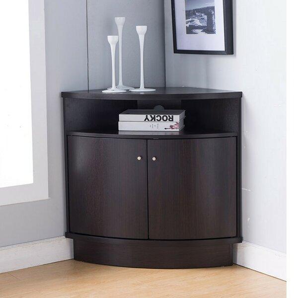 Marcus 1 Shelf Corner Unit Bookcase by Ebern Designs