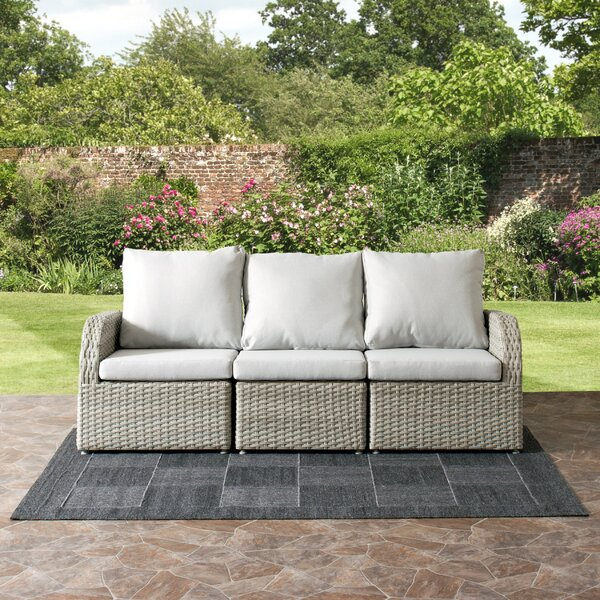 Killingworth 3 Piece Sofa Set with Cushions by Rosecliff Heights