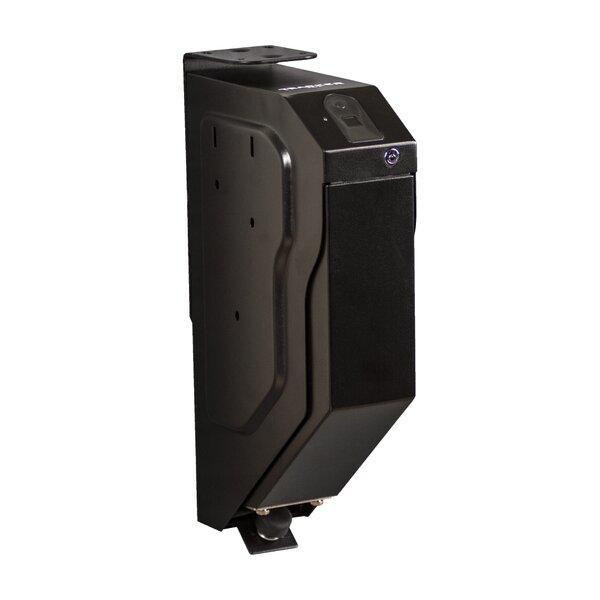 Drop Down Pistol Gun Safe with Biometric Lock by Tracker Safe
