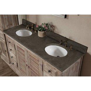 Clemmie 61 Double Bathroom Vanity ByLaurel Foundry Modern Farmhouse