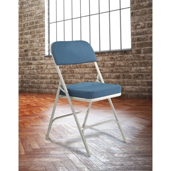 3200 Series 2-Inch Thick Padded Folding Chair (Set of 2) by National Public Seating