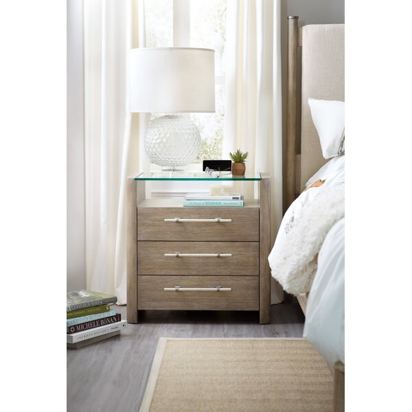 Affinity 3 Drawer Nightstand by Hooker Furniture