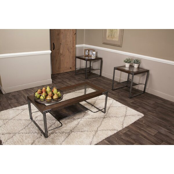 Dulvert 3 Piece Coffee Table Set by 17 Stories 17 Stories