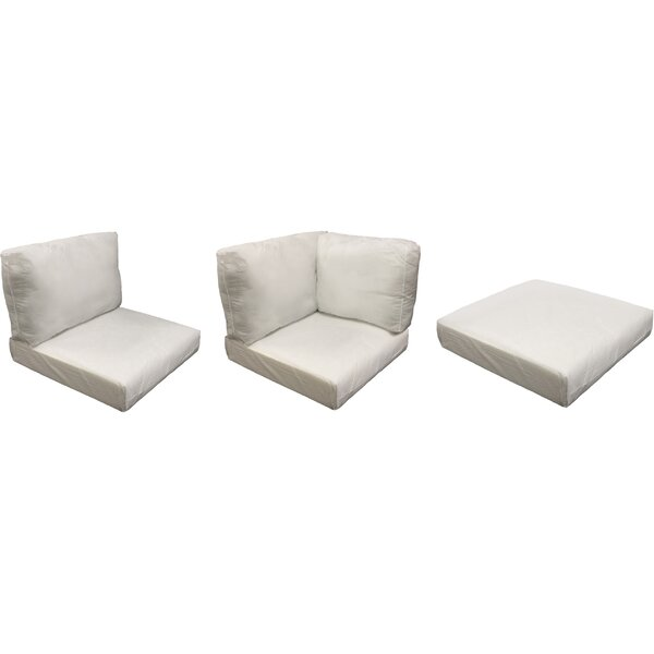 Fairfield 10 Piece Indoor/Outdoor Seat/Back Cushion Set By Sol 72 Outdoor