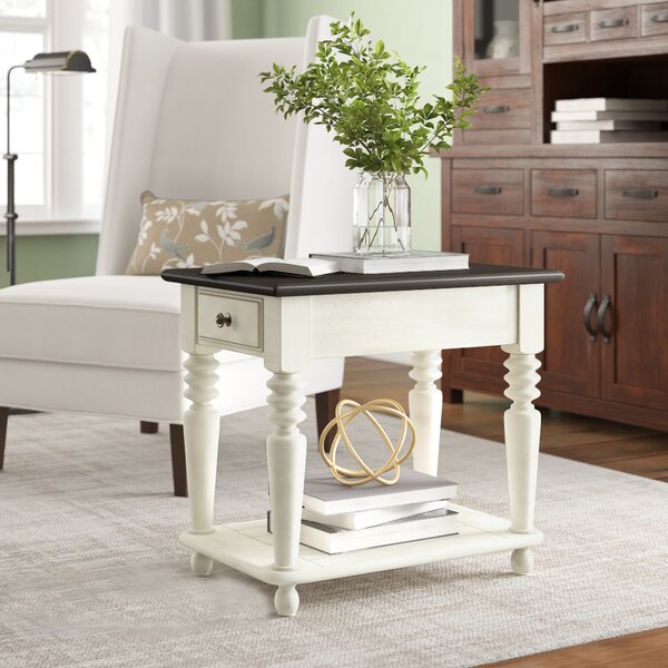 Calila End Table with Storage by Birch Lane™ Heritage