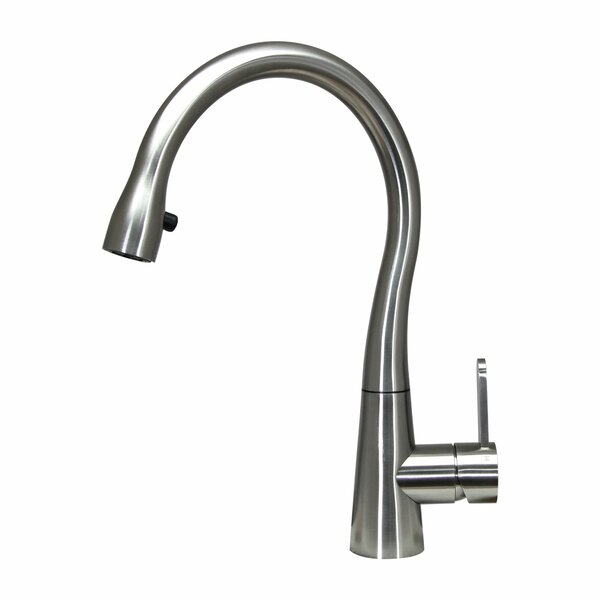 Helena Single Handle Kitchen Faucet by Boann