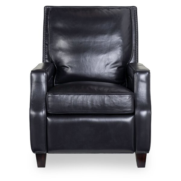 Massengill Leather Manual Recliner [Red Barrel Studio]