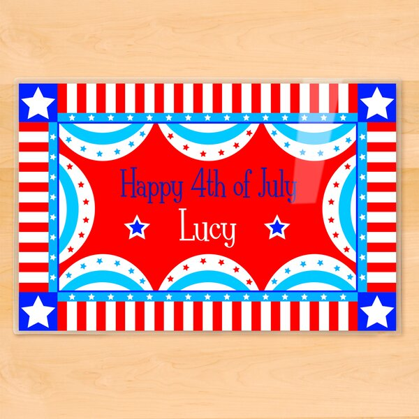 4th of July Personalized Placemat by Olive Kids