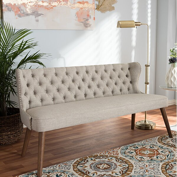 Modern Style Zenobius Loveseat by Latitude Run by Latitude Run