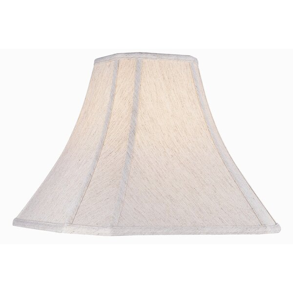 Linen Bell Lamp Shade by Charlton Home