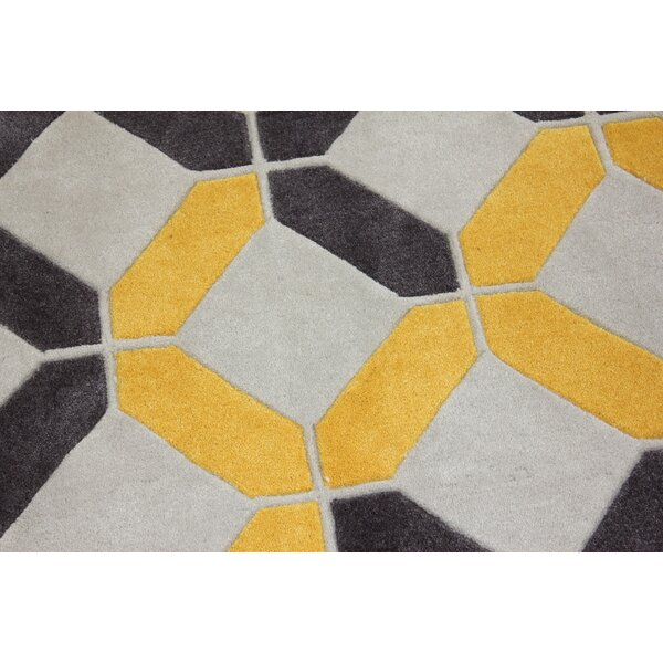 Transition Hand-Tufted Charcoal Area Rug by Rug Factory Plus