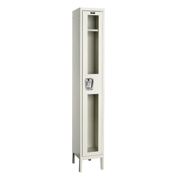 Safety-View 1 Tier 1 Wide Safety Locker by HallowellSafety-View 1 Tier 1 Wide Safety Locker by Hallowell