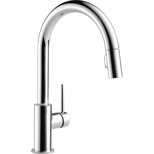 Trinsic Pull Down Single Handle Kitchen Faucet wit