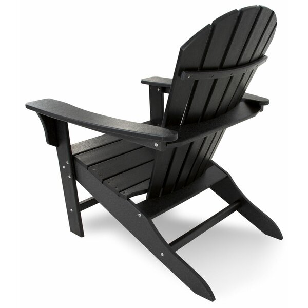 Cape Cod Recycled HDPE Plastic Adirondack Chair by Trex Outdoor Trex Outdoor