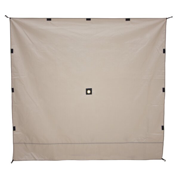 Portable Gazebo Screen Tent Wind Panel (Set of 3) by Gazelle