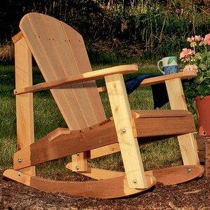 cedar furniture and accessories adirondack rocking chair - Adirondack Rocking Chair
