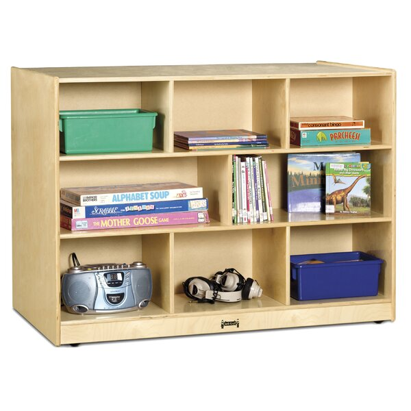 8 Compartment Shelving Unit with Casters by Jonti-Craft