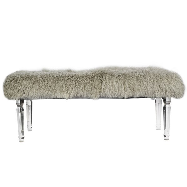 Exaucet Upholstered Bench by Willa Arlo Interiors Willa Arlo Interiors