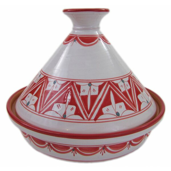 Nejma 1.5 Qt. Ceramic Round Tagine by Le Souk Ceramique