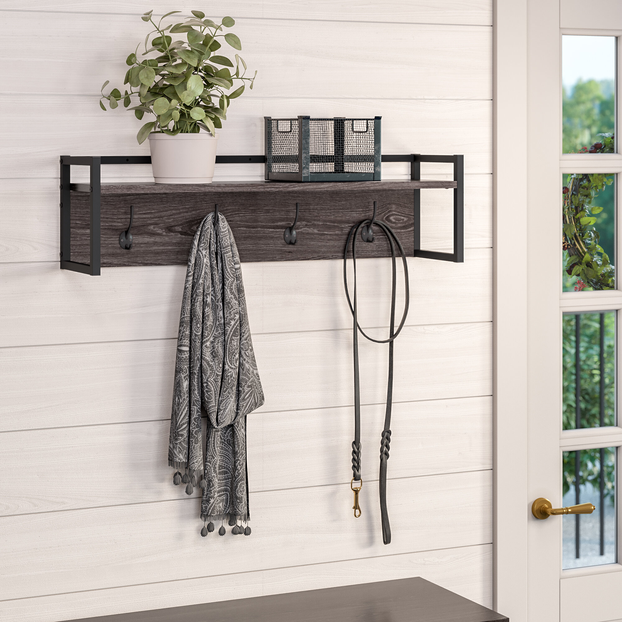 Union Rustic Slippel Wall Mounted Coat Rack & Reviews | Wayfair