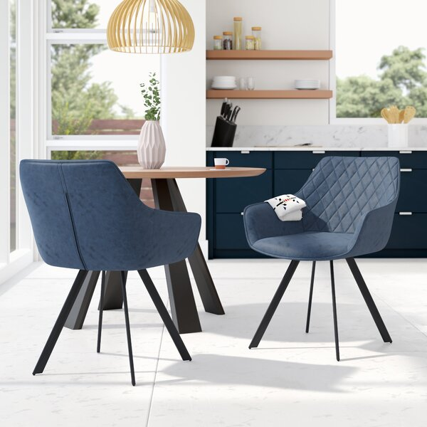 Almeida Upholstered Dining Chair (Set of 2) by Langley Street