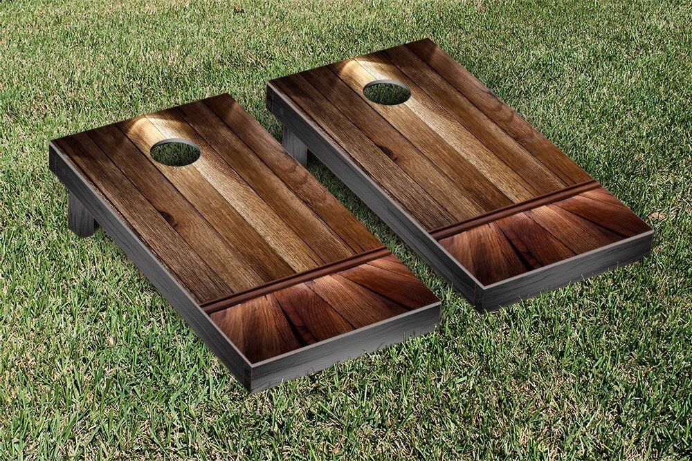 Victory Tailgate Wooden Spotlight Themed Cornhole Game Set