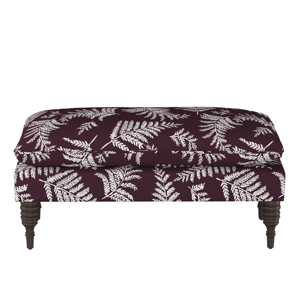 Coconut Upholstered Bench by Bay Isle Home