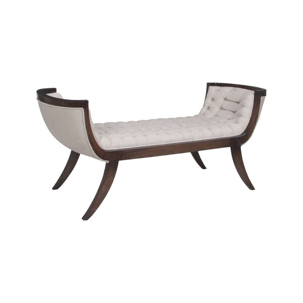 Carnella Upholstered Bench by Astoria Grand