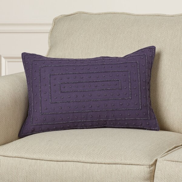 Leonide Cotton Throw Pillow by Willa Arlo Interiors