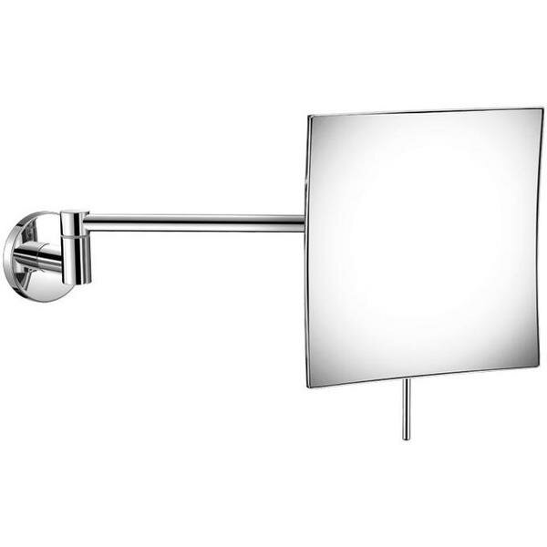 Korando Square Adjustable Makeup/Shaving Mirror by Symple Stuff