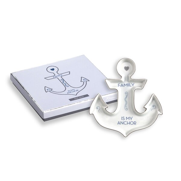 Anchor Family Is My Anchor Jewelry Tray by Rosanna