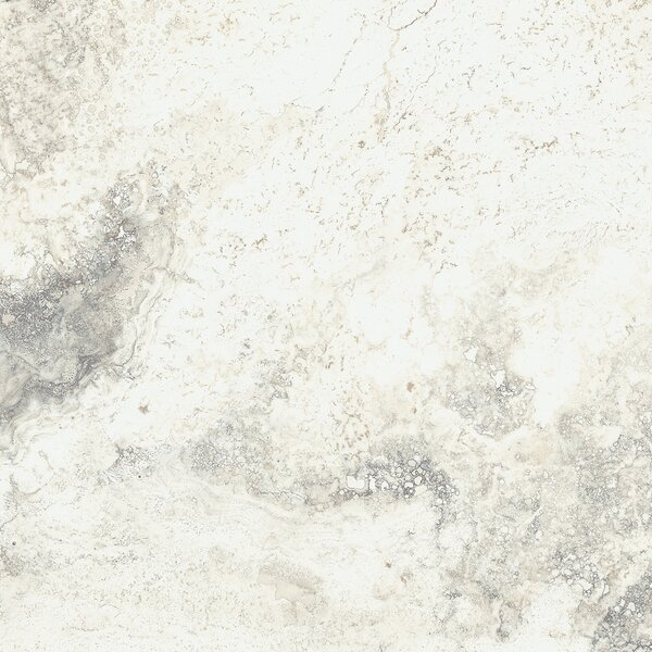 Baroque 18 x 18 Porcelain Field Tile in Vanilla by Parvatile
