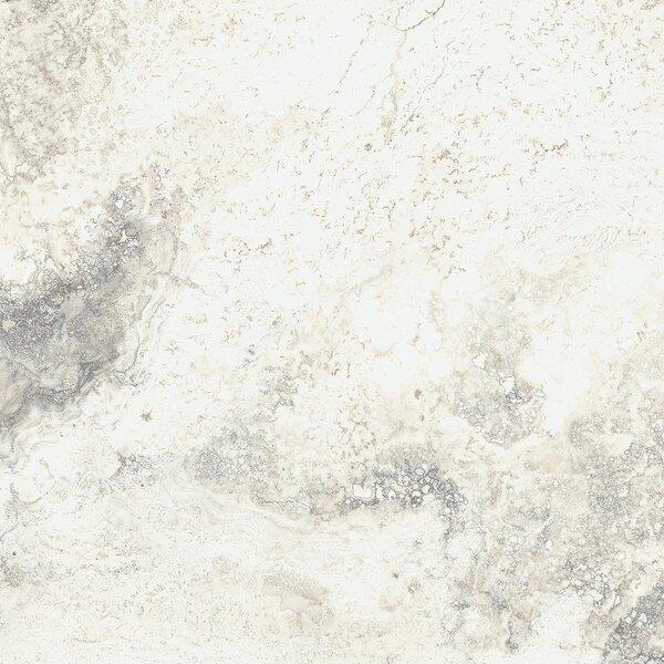 Baroque 18 x 18 Porcelain Field Tile in Vanilla by Parvatile