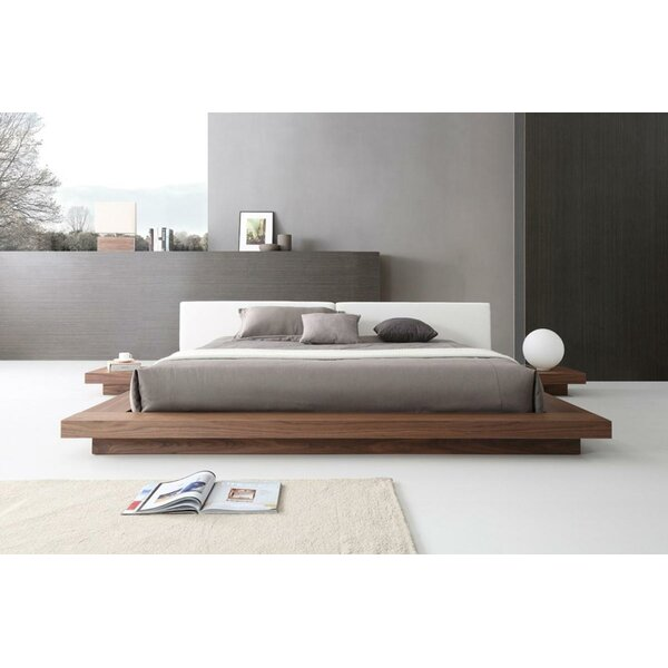 Noblitt Upholstered Platform Bed by Mercury Row