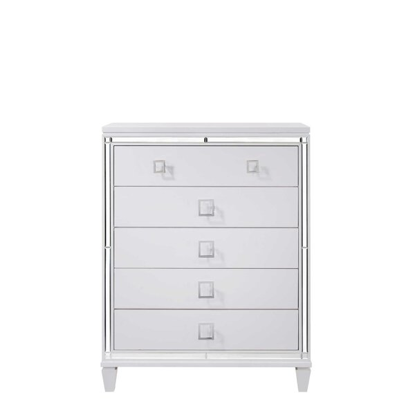 Alfaro 5 Drawer Chest by House of Hampton