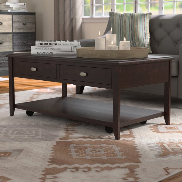Beloit Coffee Table With Storage By Red Barrel Studio