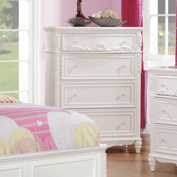 Whitney 4 Drawer Chest by Viv + Rae