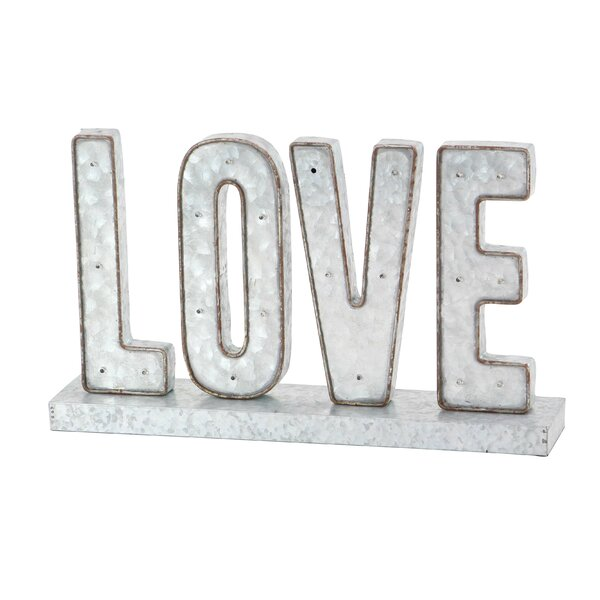 Modern Love LED Marquee Sign (Set of 2) by Gracie Oaks