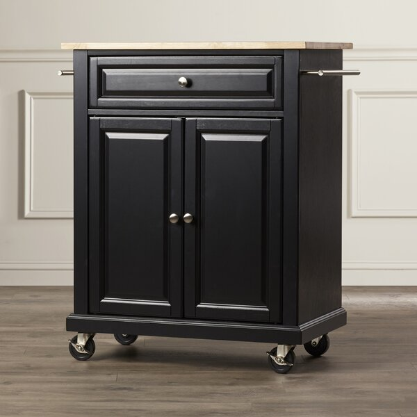 Hedon Kitchen Cart By Three Posts Great price